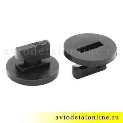 Заглушка-фиксатор внутренней ручки двери УАЗ Патриот, 3162-6105196, фото