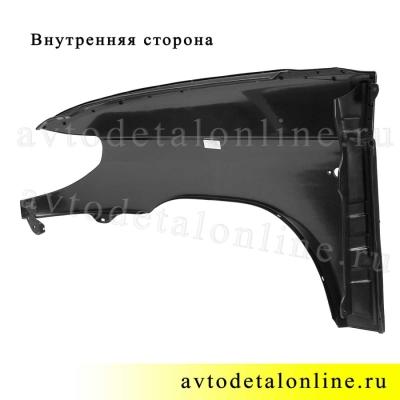 Крыло переднее правое УАЗ Патриот, пластиковое на замену 3163-8403012, фото
