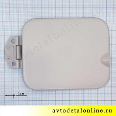 Крышка лючка бензобака УАЗ Патриот левая, 3160-5413011, размеры на фото