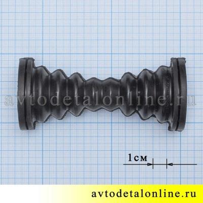 Резиновая гофра УАЗ Патриот 3163, передней двери, 3160-3724322-10, фото с размерами