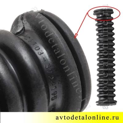 Гофра резиновая - трубка защитная проводов задней двери  УАЗ Патриот 3160-3724320