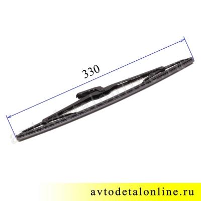 Длина задней щетки стеклоочистителя УАЗ Патриот 3163-6313200
