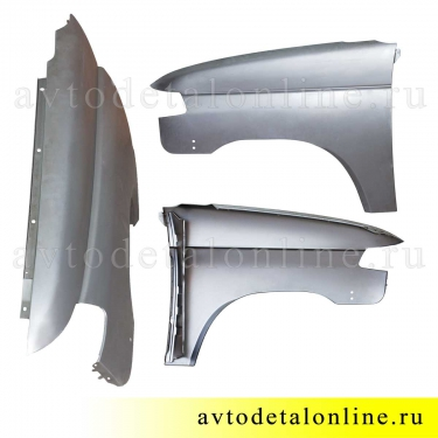 Крыло переднее левое УАЗ Патриот с 2015 г, металл. на замену 3163-8403011, купить