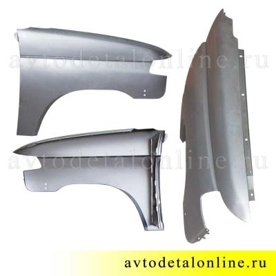 Крыло переднее правое УАЗ Патриот с 2015 г, металл. на замену 3163-8403010, купить