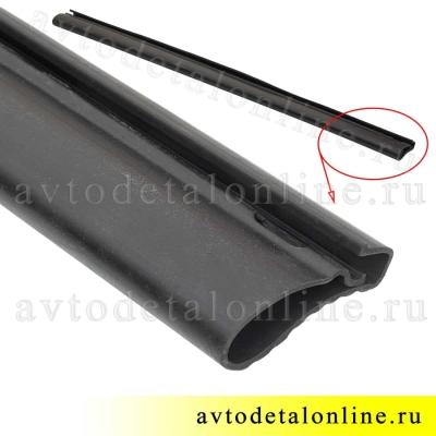 Резиновая накладка подножки Патриот УАЗ на трубу бокового ограждения 3162-8405045-02