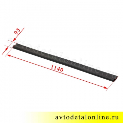 Размер накладки порога Патриот УАЗ 3162-8405045-02 резиновая защита на трубу-подножку