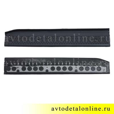 Накладка на пороги УАЗ Патриот резиновая 3160-8405571 передняя, левая