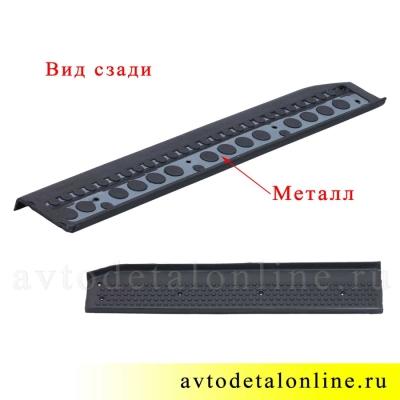 Резиновая накладка на пороги Патриот УАЗ 3160-8405571 передняя, левая
