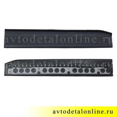 Накладка на пороги УАЗ Патриот резиновая 3160-8405570 передняя, правая