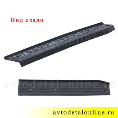 Резиновая накладка на пороги Патриот УАЗ 3160-8405570 передняя, правая