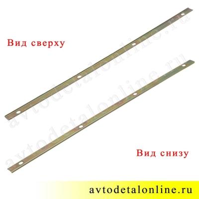 Планка резиновой накладки подножки Патриот УАЗ на трубу бокового ограждения 3162-8405050