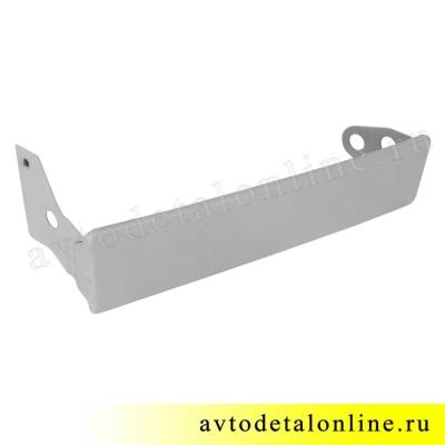 Левая надставка облицовки радиатора УАЗ Патриот 3163-16-8401021, до 2015 года, ресничка на фары