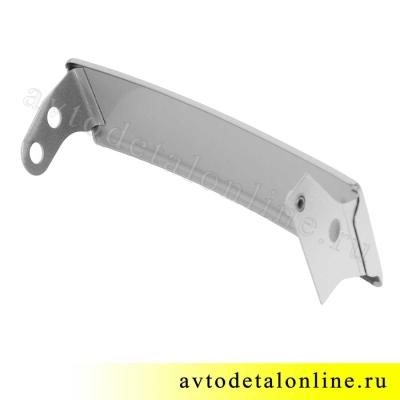 Левая ресничка УАЗ Патриот 3163-16-8401021, до 2015 года, надставка облицовки радиатора на фары