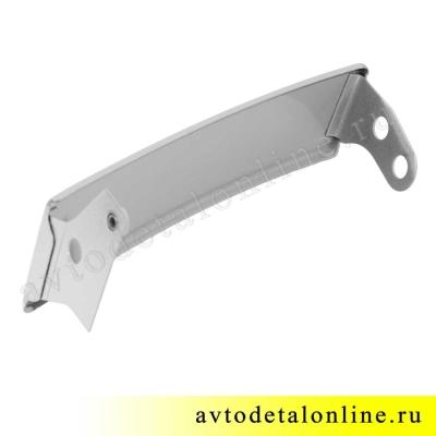 Правая ресничка УАЗ Патриот 3163-16-8401020, до 2015 года, надставка облицовки радиатора на фары