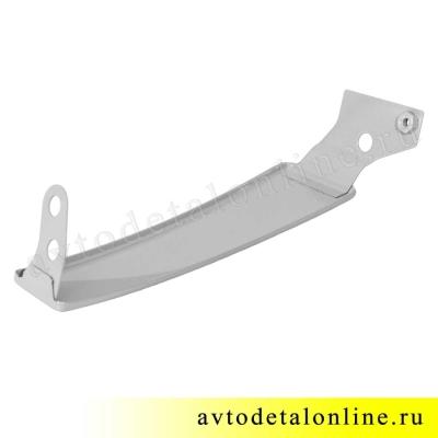 Правая надставка облицовки радиатора Патриот УАЗ 31631-8401020, ресничка на фары до 2015 года