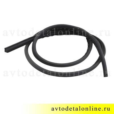 Уплотнитель двери УАЗ Патриот 3163-6207018 на замену в заднем дверном проеме, длина 3640 мм
