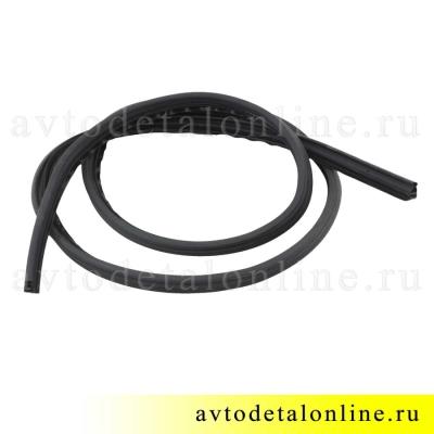 Уплотнитель двери УАЗ Патриот 3163-6107018 на замену в переднем дверном проеме, длина 3550 мм