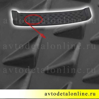 Накладка на бампер УАЗ  Патриот с металлической арматурой внутри 3163-2803019, передний