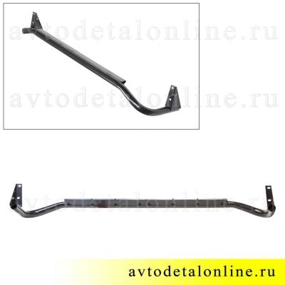 Труба внешняя порога УАЗ Патриот защита правая 3162-8405012 усиленное боковое ограждение подножки