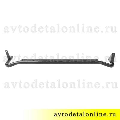 Подножка УАЗ Патриот, защитная труба порогов левая 3162-8405013 силовое боковое ограждение без резинки
