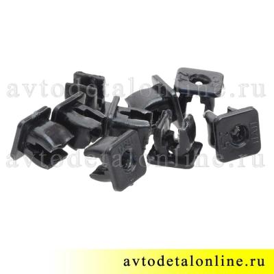 Пластиковый элемент крепления заднего номерного знака УАЗ Патриот 3160-2808020 и накладок на подножки