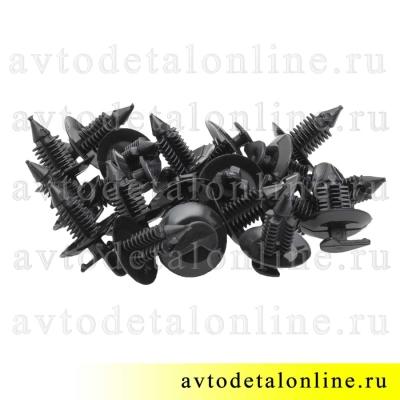 Клипса-пистон обивки УАЗ Патриот 3160-6102053 фиксатор-кнопка для крепления обшивки дверей