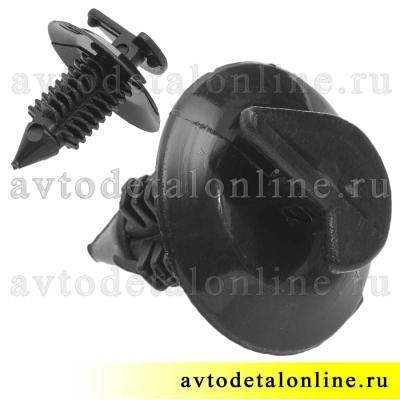 Пистон-клипса обшивки УАЗ Патриот 3160-6102053 кнопка фиксатор для крепления обивки дверей