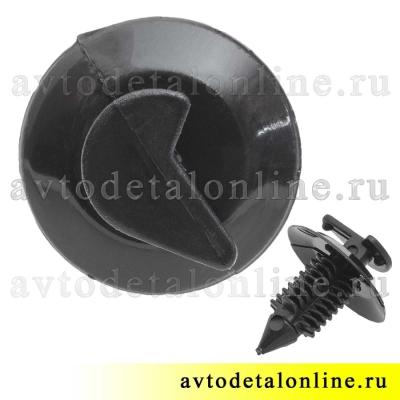 Фото пистона-кнопки обивки УАЗ Патриот 3160-6102053 клипса-держатель для крепления обшивки дверей