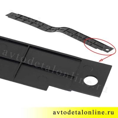 Накладка порога пола УАЗ Патриот передняя левая, номер пластиковой облицовки порога 3160-5109073