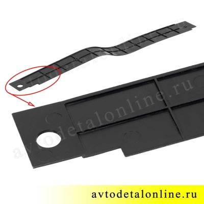 Накладка порога пола УАЗ Патриот передняя правая, номер пластиковой облицовки порога 3160-5109072