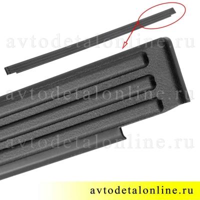 Пластиковая накладка пола задней двери УАЗ Патриот, каталожный номер поперечины двери багажника 31631-5109076