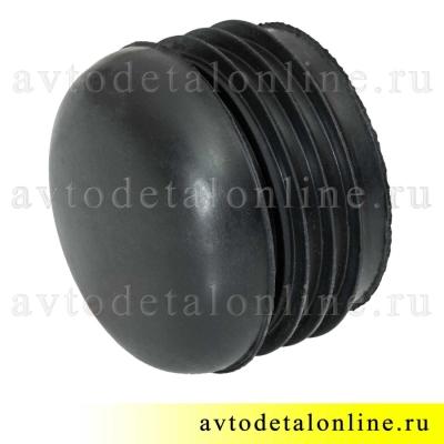 Круглая резиновая заглушка подножки УАЗ Патриот 3162-8405055 для защитной трубы порогов 3162-8405013