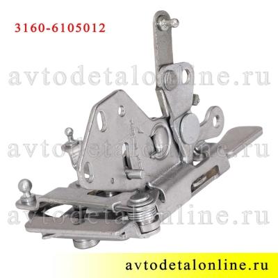 Внутренний дверной замок УАЗ Патриот 3160-6105012-10 для замены в передней, правой двери