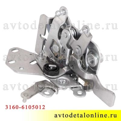 Внутренний передний, правый замок двери УАЗ Патриот 3160-6105012-10
