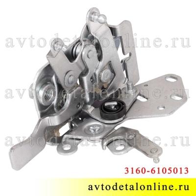 Дверной замок УАЗ Патриот 3160-6105013-10 передний, левый, внутренний, 2108-6105013