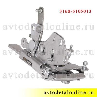 Внутренний передний, левый дверной замок УАЗ Патриот 3160-6105013-10
