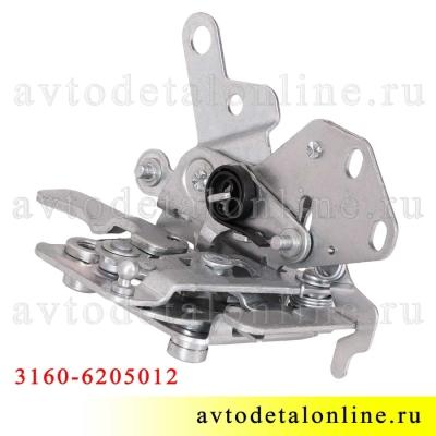 Дверной замок УАЗ Патриот 3160-6205012 задний, правый, внутренний, 2109-6205012