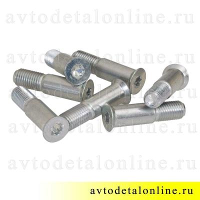 Общий вид пальцев фиксатора замка двери УАЗ Патриот 3160-6105228, винты М10х1,25 специальные