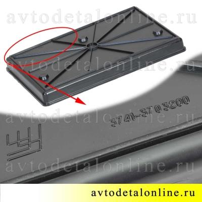 Поддон под АКБ, внутренний размер 275х180 мм, пластиковый 3741-3703200