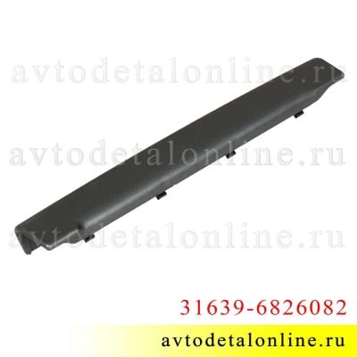 Облицовка внутренней ручки двери УАЗ Патриот, номер правой декоративной накладки подлокотника 31639-6826082