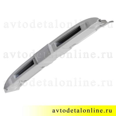 Акустическая верхняя полка УАЗ Хантер, 469 под магнитолу или рацию, серый пластик АБС
