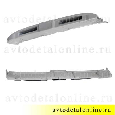 Акустическая верхняя полка под магнитолу на УАЗ Хантер, 469, серый АБС пластик, Пром-Деталь
