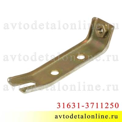 Верхний кронштейн для установки фары УАЗ Патриот рестайлинг 2008 года 31631-3711250, правый