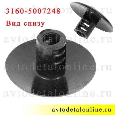Держатель коврика пола УАЗ Патриот, каталожный номер пистона 3160-5007248