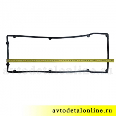 Прокладка клапанной крышки УАЗ Патриот Евро-4, купить на замену для ЗМЗ-409, номер 40624.1007245-10, размер