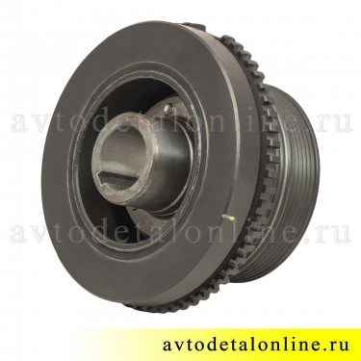 Демпфер-шкив двигателя УАЗ Патриот, 406.1005050-60 установка на коленвал дв. 409, Прогресс