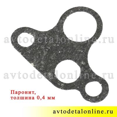 Толщина прокладки маслонасоса УАЗ Патриот с двигателем ЗМЗ-409, паронит 406-1011080