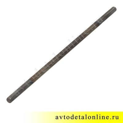 Валик привода масляного насоса УАЗ, ГАЗ с двигателем ЗМЗ-409, длиной 235 мм, шестигранный, 406.1011220-10