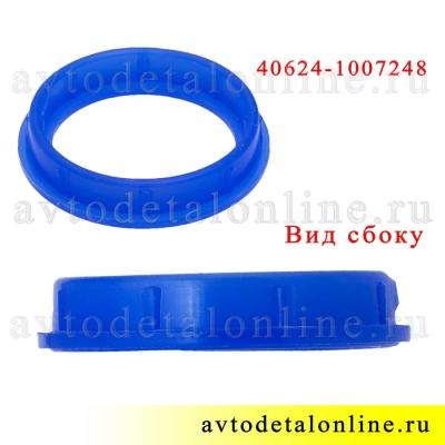 Уплотнитель свечного колодца ЗМЗ-409, 405, 406 УАЗ, ГАЗ, Промтехпласт синий силикон на замену 40624.1007248