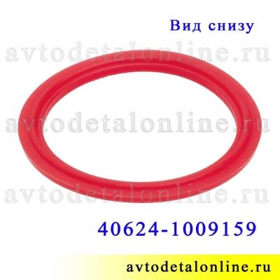 Прокладка маслозаливной крышки УАЗ, ГАЗ с ЗМЗ-409 Евро-3, 4,  красный силикон, Ростек замена 40624-1009159